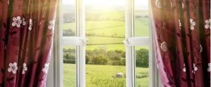 پنجره دوجداره دو لنگه بازشو 1