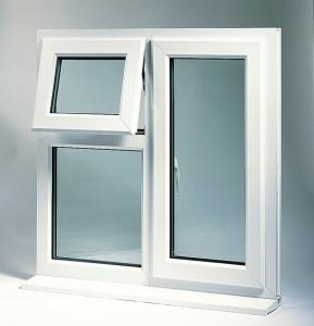 تولید پنجره دو جداره UPVC برای عایق بندی ساختمان و جلوگیری از اتلاف انرژی